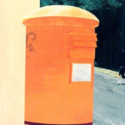 AMARILLO - Acrílico sobre tabla, 81x65 cm