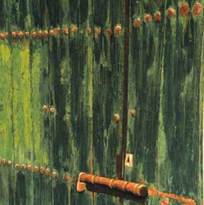 VERDE - Técnica mixta sobre tabla, 81x65 cm