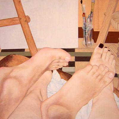 MI AMOR - Acrílico sobre tabla, 65x55 cm