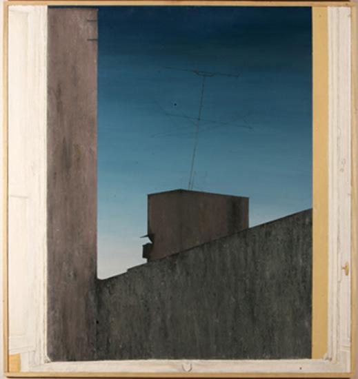 NOCHE CLARA (Selección Premios BMW) - Técnica mixta sobre lienzo, 160x150 cm