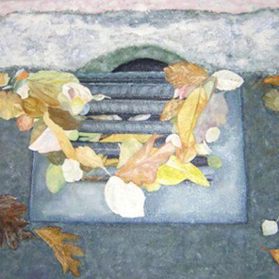 LA TOJA I - Óleo sobre lienzo, 46x55 cm
