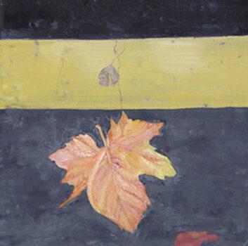 LA TOJA III - Óleo sobre lienzo, 41x33 cm