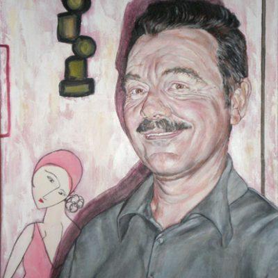 ANTONIO CASTOR - Acrílico sobre lienzo, 46x38 cm