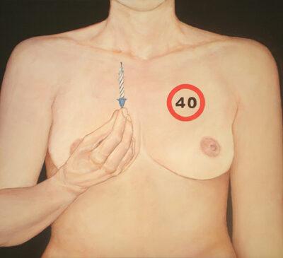 TU CORAZÓN 4 - Acrílico sobre lienzo, 46x65 cm