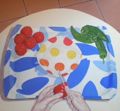 GAZPACHO - Acrílico sobre lienzo, 81x100 cm