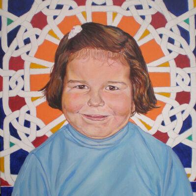LOS TRES HERMANOS 3 - Acrílico sobre lienzo, 46x38 cm